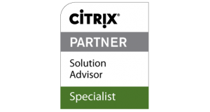 Logo Partner Citrix y competencias