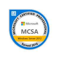 MCSA Windows Server