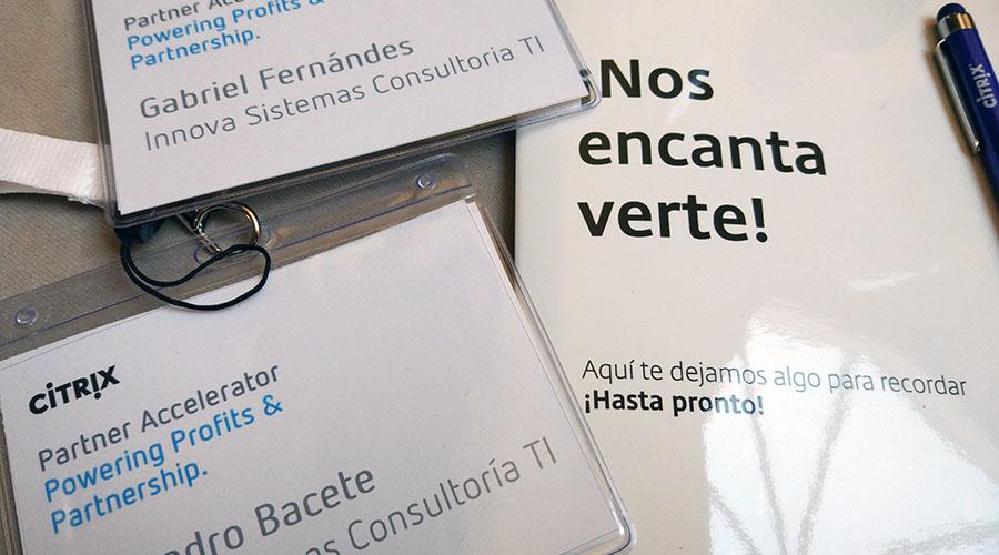 Asistencia al evento de Citrix Partner Accelerator en Madrid
